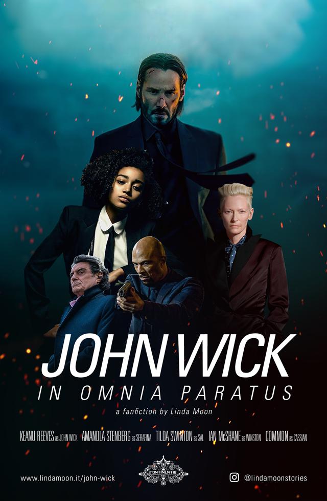 Copertina di John Wick: in omnia paratus